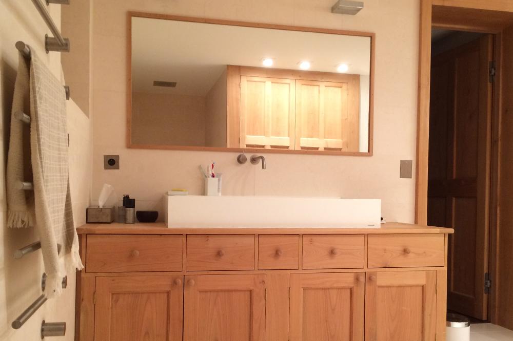 Chamonix Chalet Bathroom